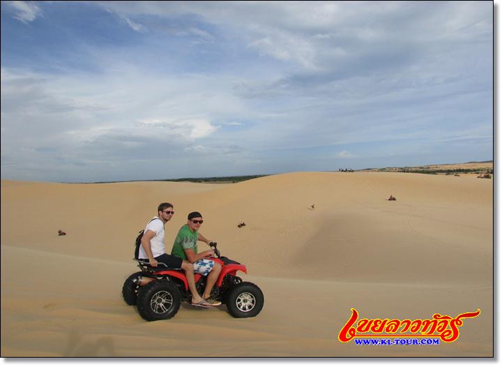ทะเลทรายขาว เนินทรายขาว มุยเน่ เวียดนามภาคใต้