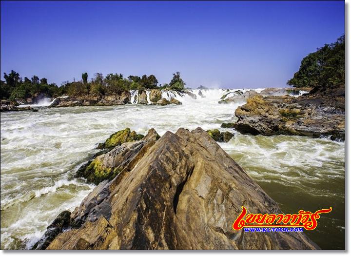 น้ำตกคอนพระเพ็ง ไนแองการ่าแห่งเอเชีย จำปาสัก ลาวภาคใต้