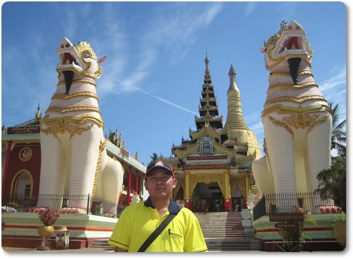 พระธาตุมุเตา เมืองหงสาวดี ทัวร์พม่า เที่ยวเมียนม่าร์