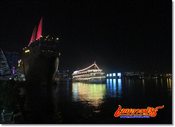 เรือสำราญแม่น้ำไซง่อน โฮจิมินห์ซิสตี้ เวียดนามภาคใต้