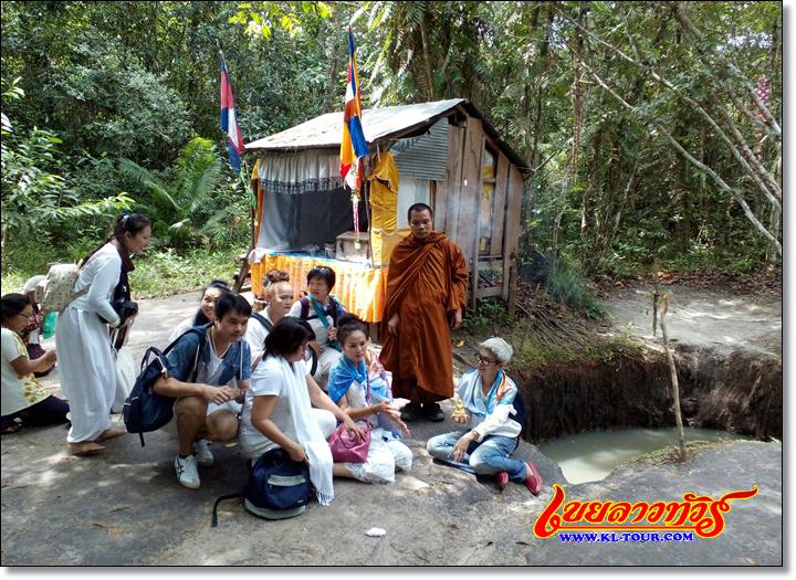 ศิวลึงค์ใต้น้ำพนมกุเลน พนมกุเลน เมืองเสรียมเรียบ กัมพูชา