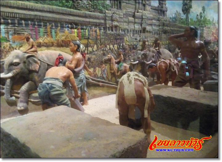 หมู่บ้านวัฒนธรรมกัมพูชา เมืองเสรียมเรียบ
