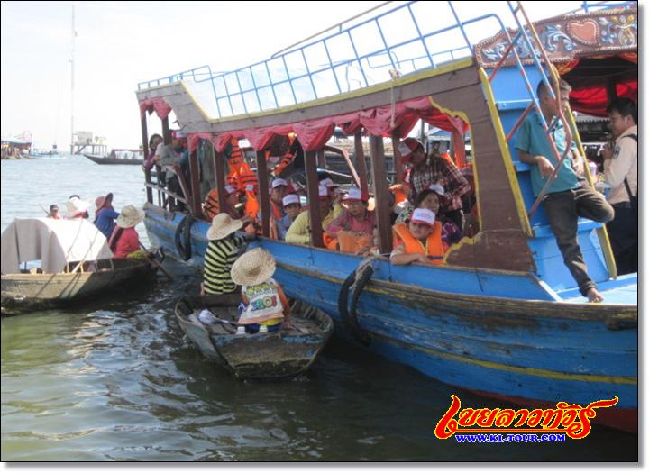 โตนเลสาบ ทะเลสาบน้ำจืดที่ใหญ่ที่สุดในเอเชีย กัมพูชา