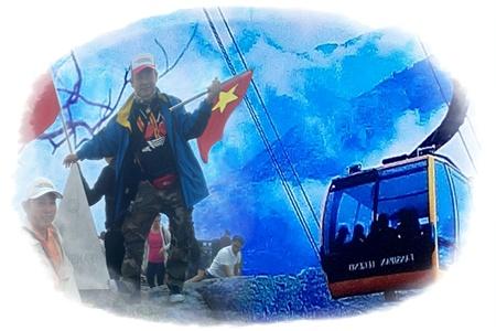 พิชิตหลังคาอาเซี่ยน ยอดเขาฟานซีปาน ซาปา ลาวไกเวียดนาม